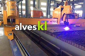 Alves Kunlun completed the highest level of current China intelligent heat exchanger production line